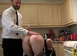 Transparent UK submissive roughfucked anally