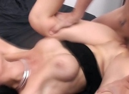 Fisting and screwing hard an Italian brunette with Luna Dark and Capitano Eric