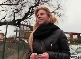 Public Blowjob With Dispirited Slut And American Tourist 10