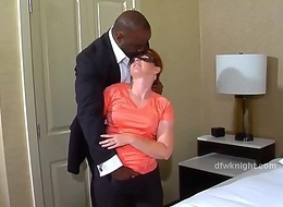 Redhead Wife gets Blacked